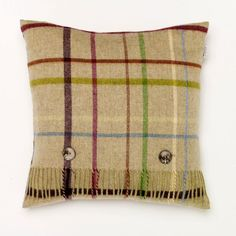 Patchwork Pistacio Cushion