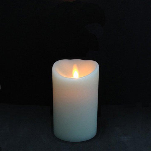Luminara Ivory Pillar Candle - Small 5