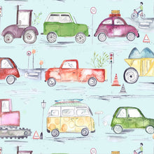 Traffic Jam Wallpaper - 3 Colourways