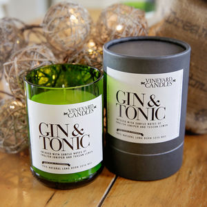 Small Gin & Tonic Vineyard Candle