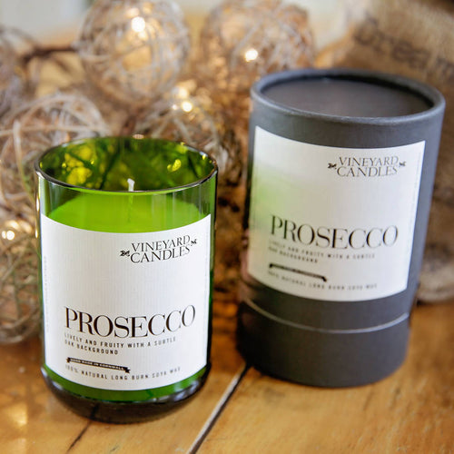 Small Prosecco Vineyard Candle