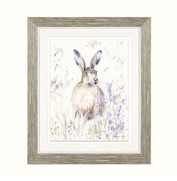 Spring Hare Framed Art