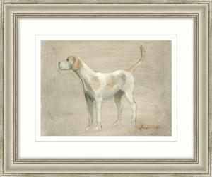 'The Hound' Framed Art