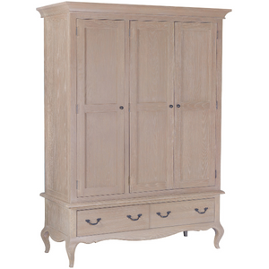 French Country 3 Door Wardrobe