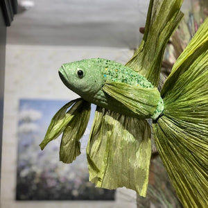 Green Hanging Fish