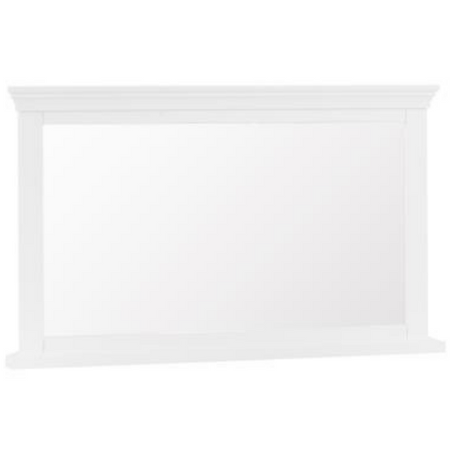 Swan Wall Mirror (Grey/White)