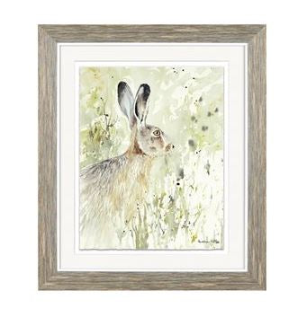 Woodland Hare Framed Art