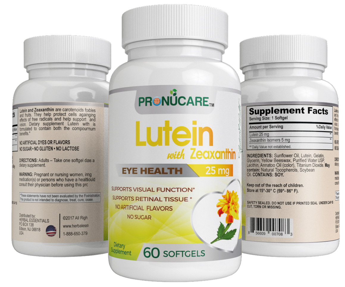 Lutein with Zeaxanthin Isomers