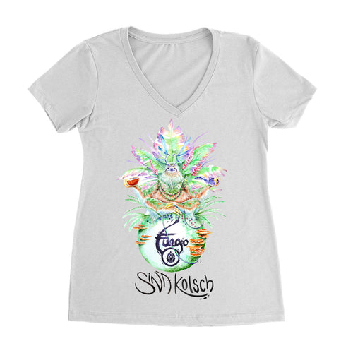 Sina Fuego Women's V-neck