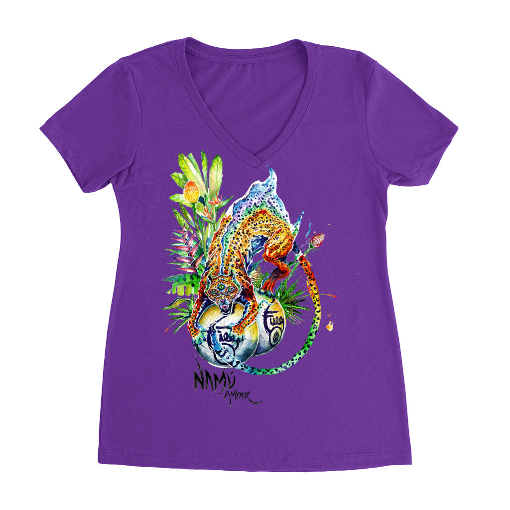 Namu Fuego Women's V-neck