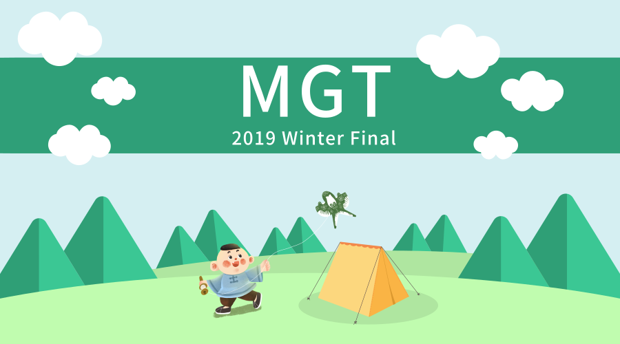 2019-Winter MGT Course