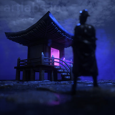 night temple