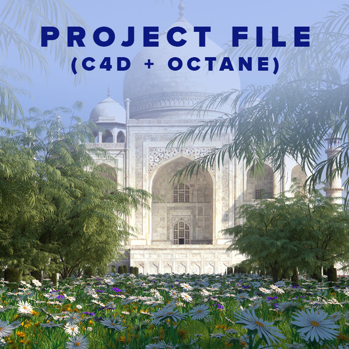 Taj Mahal - Project File