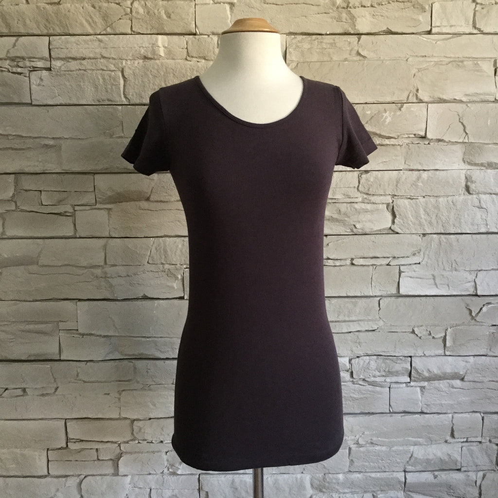 TOP SCOOP NECK BAMBOO