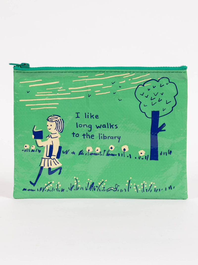 LONG WALKS LIBRARY POUCH