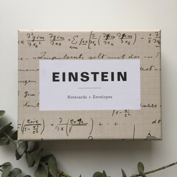 EINSTEIN NOTECARDS
