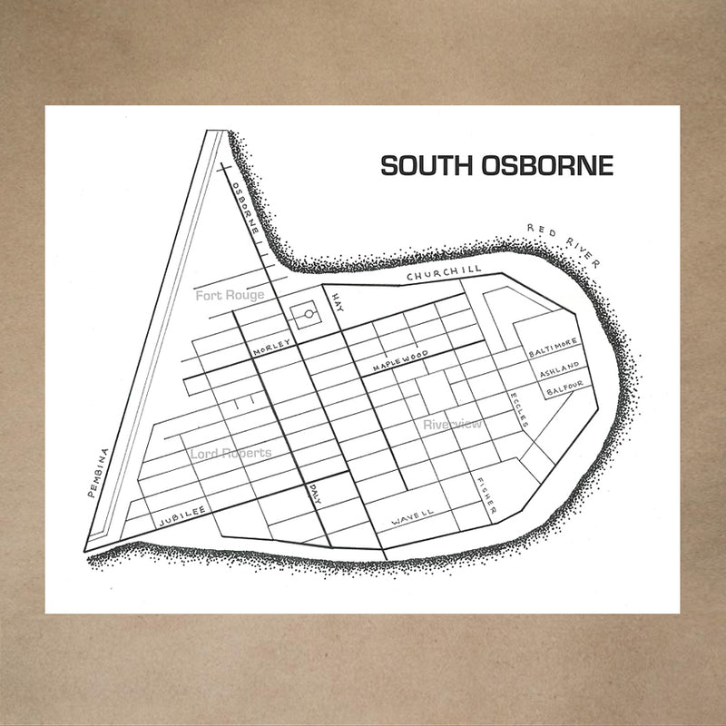 SOUTH OSBORNE PRINT 8 X10