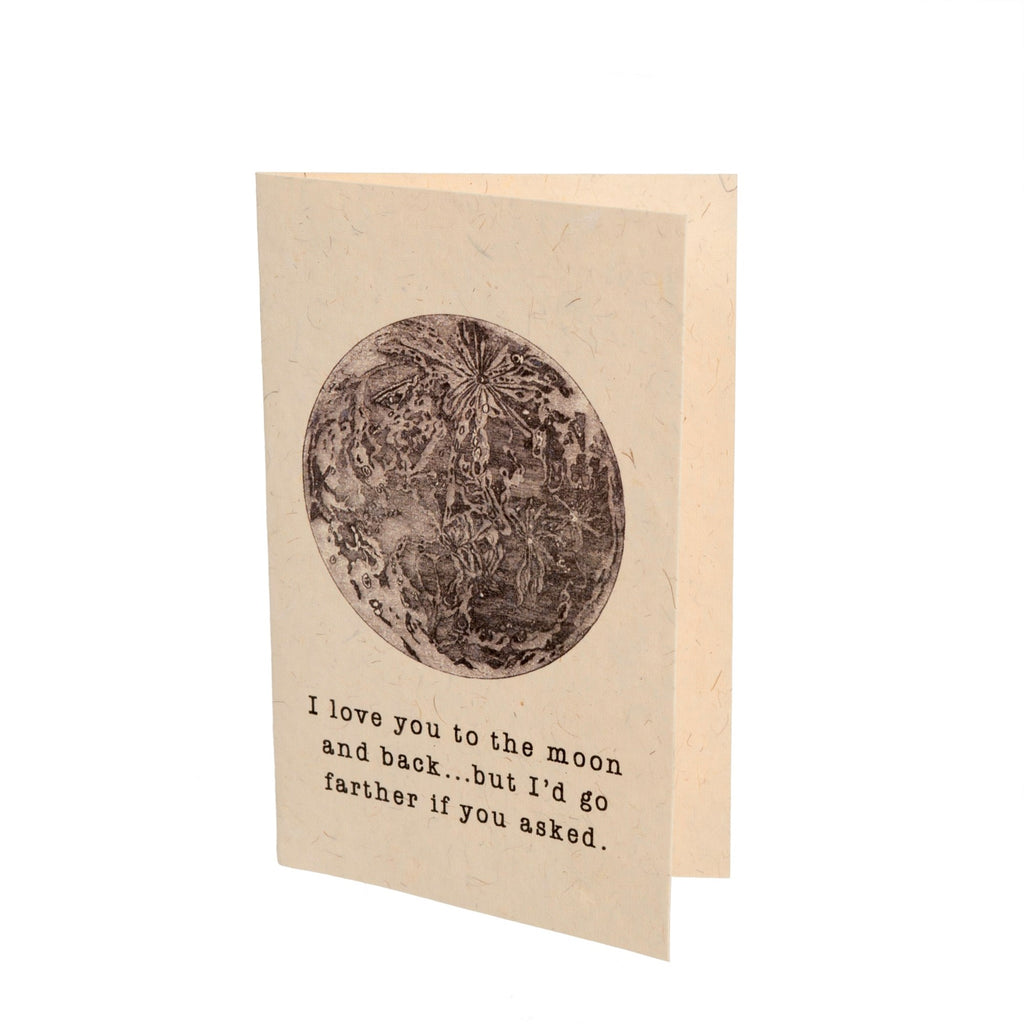 LOVE YOU TO THE MOON CARDS