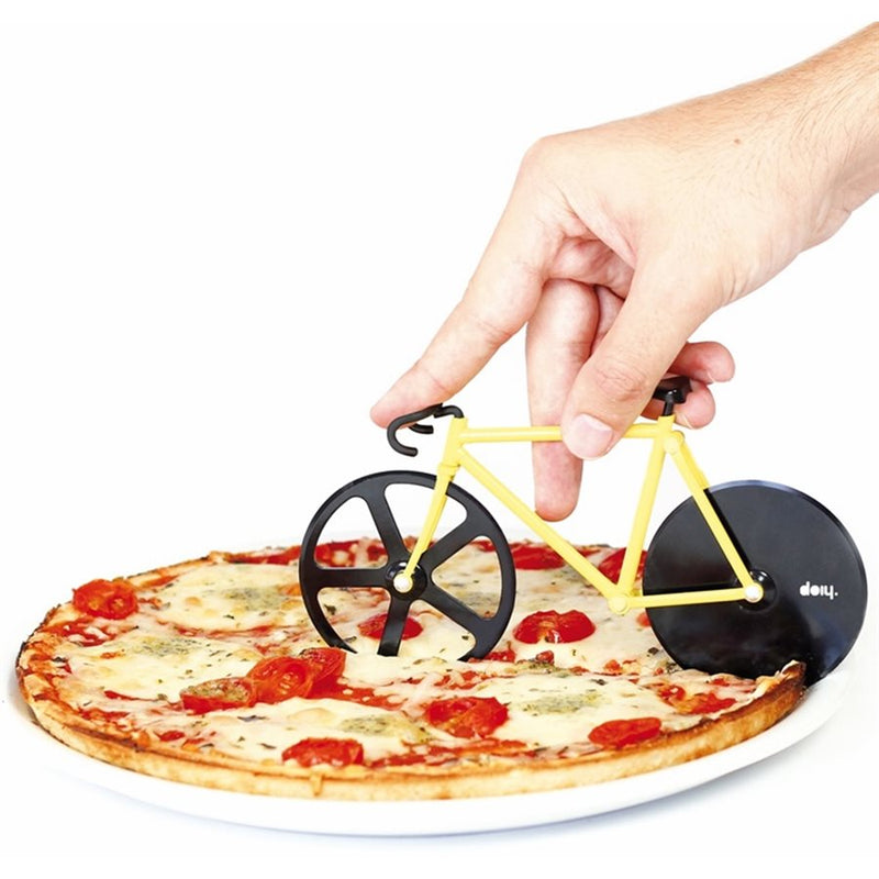 FIXIE BUMBLEBEE BICYCLE PIZZA CUTTER