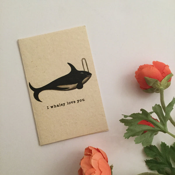 I WHALEY LOVE YOU CARDS