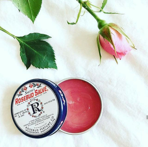 ORIGINAL ROSEBUD ALL PURPOSE SALVE TIN