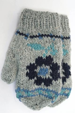 FAIR TRADE MITTS FLOWER