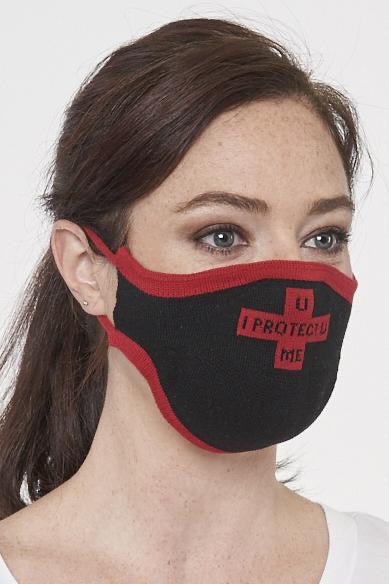 I PROTECT YOU FACE MASK KNIT