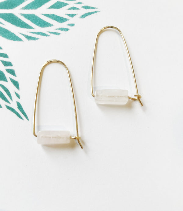 DUSTY ROSE LINEN SCRUNCHIE