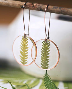 FERN DANGLE EARRING