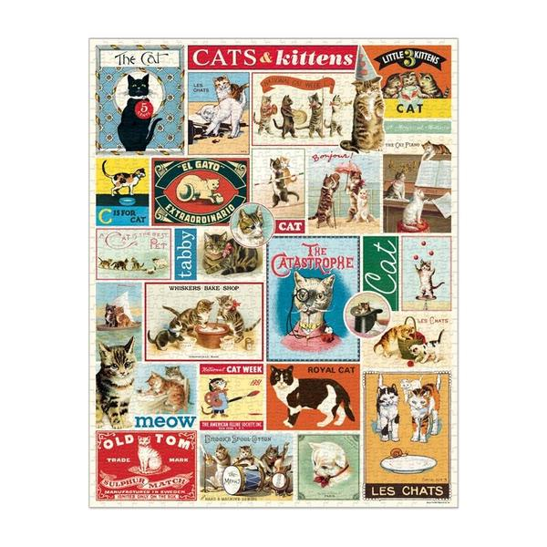 CATS & KITTENS 1000 PIECE PUZZLE