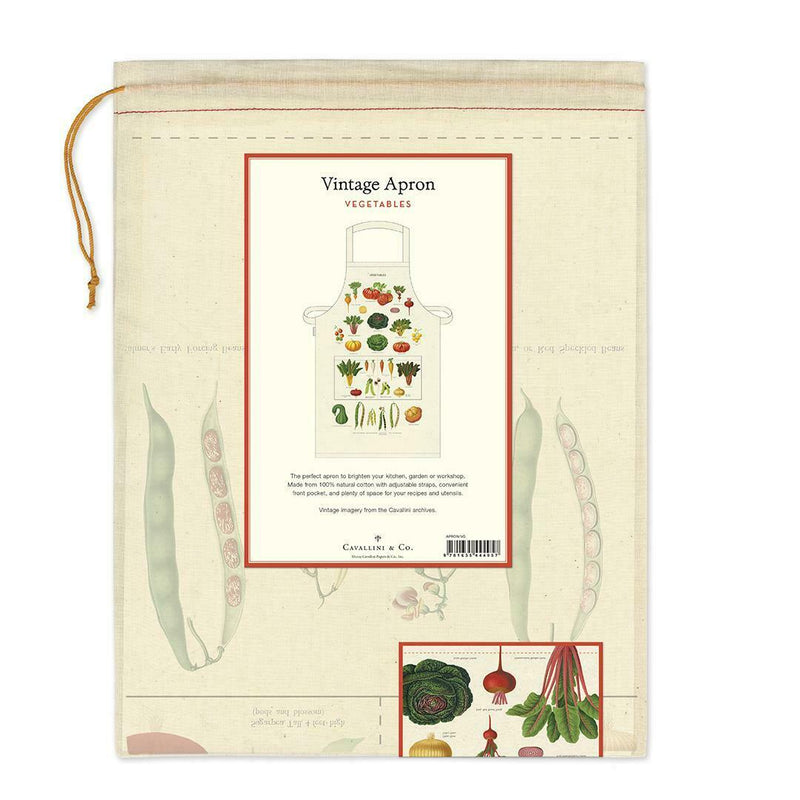 VEGETABLES VINTAGE APRON