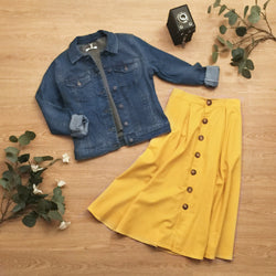 JACKET DENIM HOT SOYA