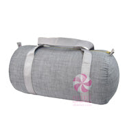 MINT Grey Chambrey Medium Duffle