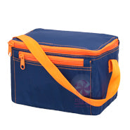 OHMINT Navy Orange Lunch Box