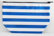 sarahjane cosmetic bag royal stripe