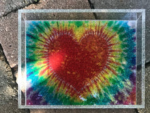 Acrylic Tye Dye Themed Tray