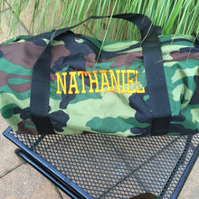 Oh Mint Camo Medium Duffle bag