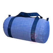 OHMINT Navy Chambrey Medium Duffle