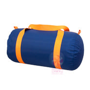 MINT Navy Orange Medium Duffle