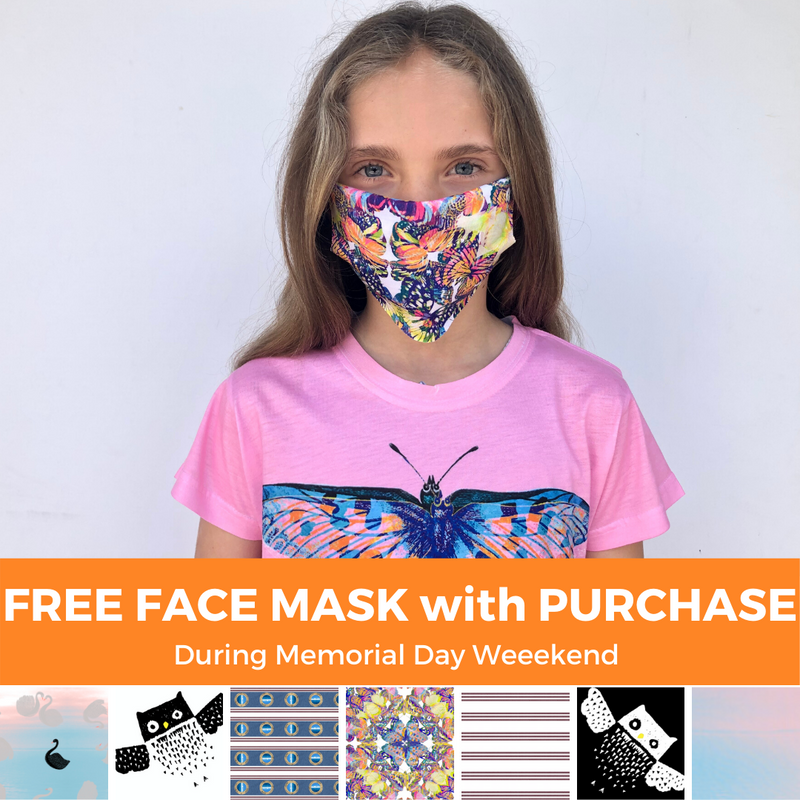 Free Kids Masks for all Shoppers during Memorial Day Weekend!