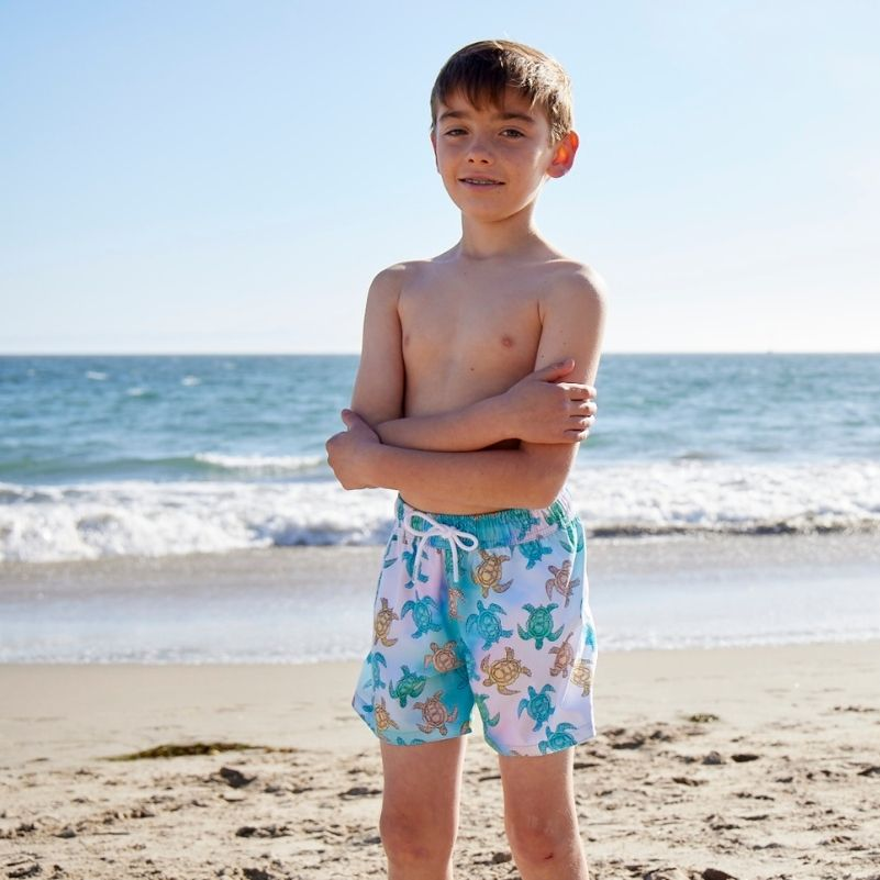 Bale of Turtles Boy's Swim Shorts UPF 50