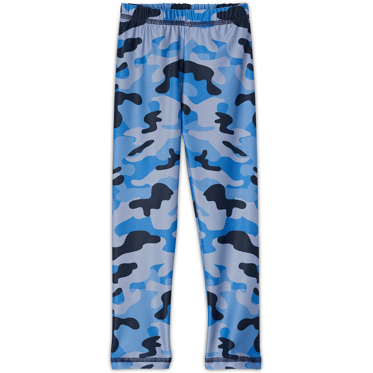 Blue Camo Leggings Kids Sunpoplife