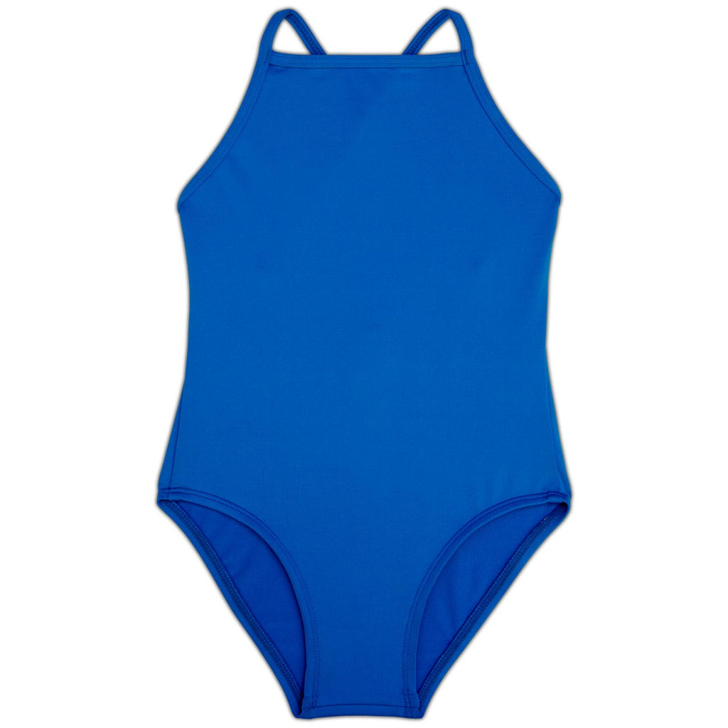 Blue Girls' Swimsuit UPF 50+ Sun Pop Life®