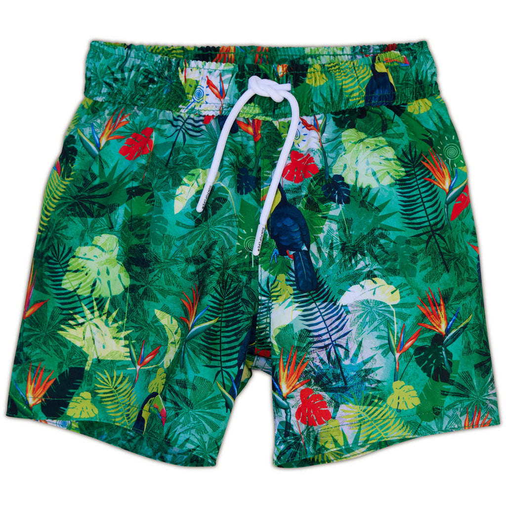 Jungle Swim Shorts for Boys UPF 50