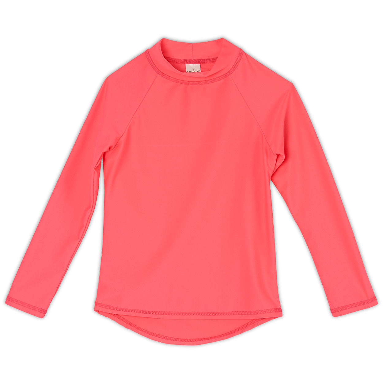 Coral Girls Long Sleeve Rash Guard Top UPF 50+