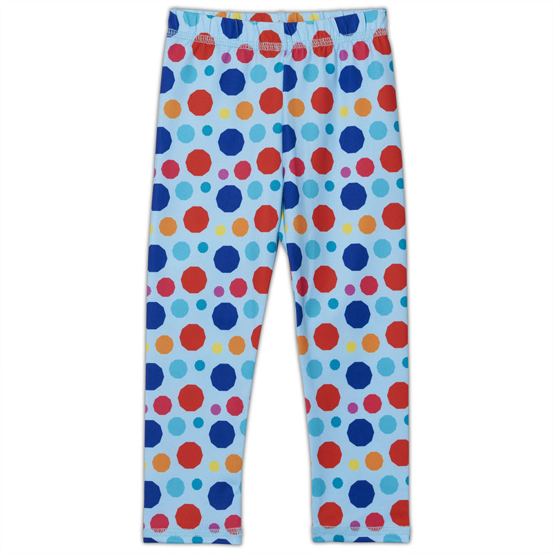 Dots Hybrid Kids Leggings UPF 50+ for Girls