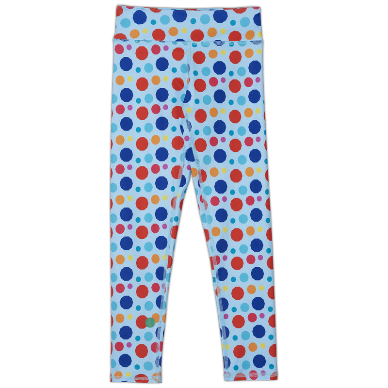 Dots Hybrid Youth Leggings UPF 50+