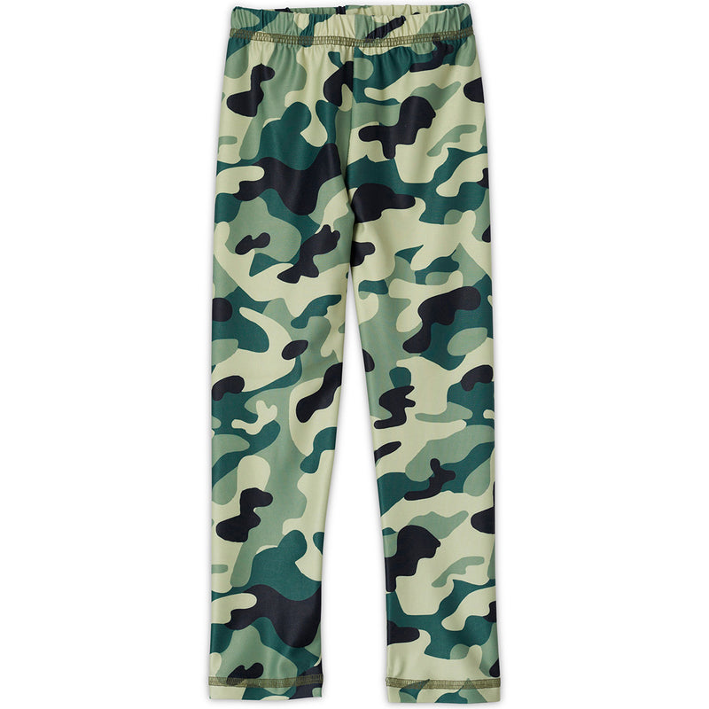 Green Camo Legging Kids Sunpoplife