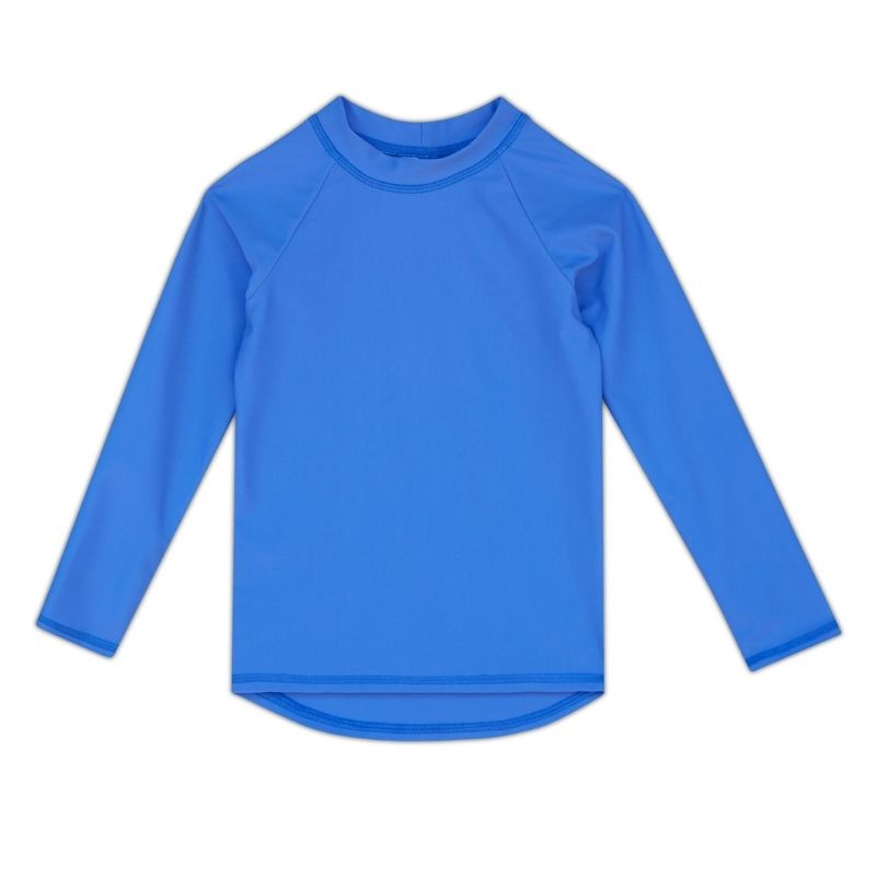 Kids Long-Sleeve Rashguard Top UPF 50+ in Periwinkle