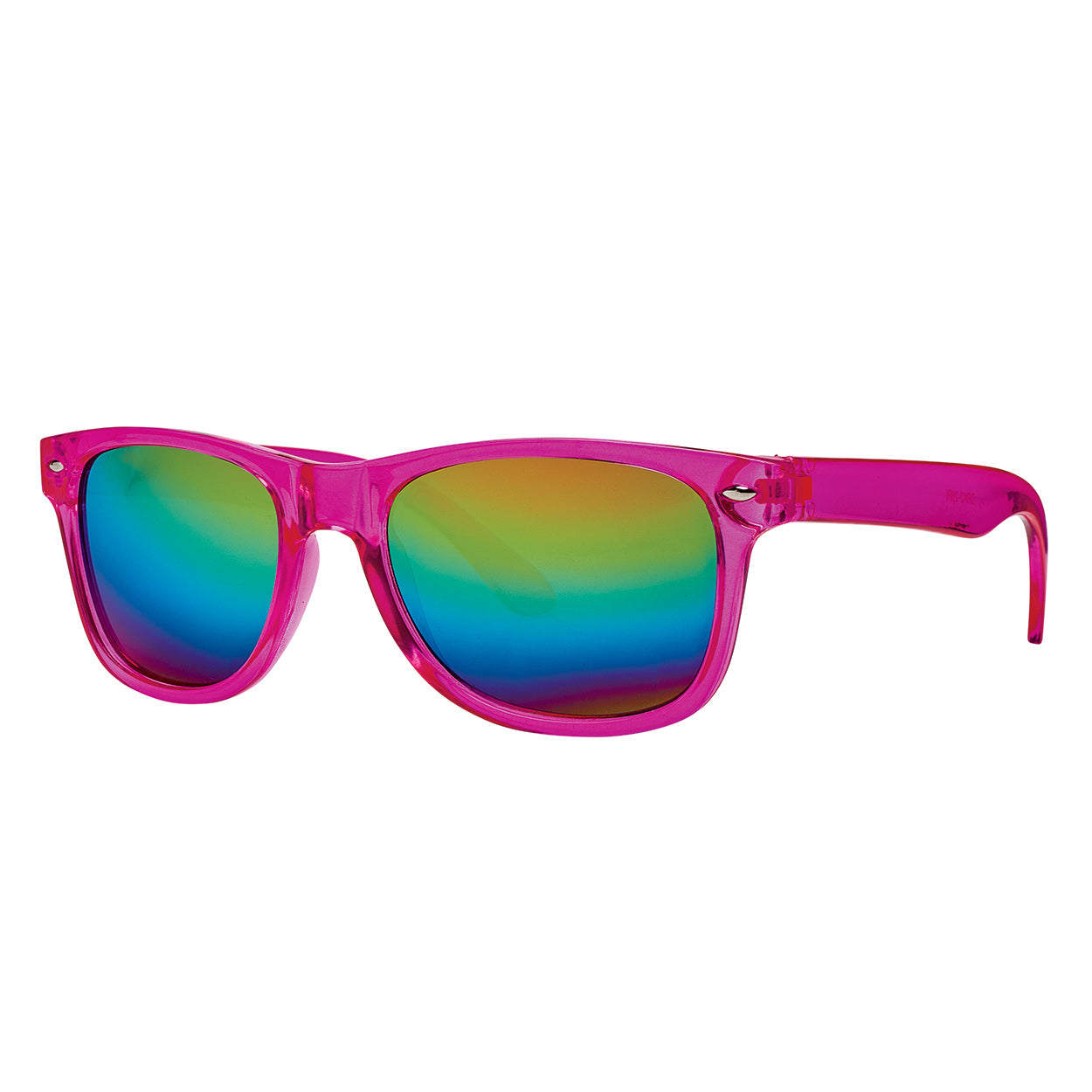 Kids Sunglasses Uv 400 Girls 3 8 Pink Wayferer Rainbow Mirrored Glasses Sunpoplife